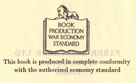 Book Production War Economy Standard Logo